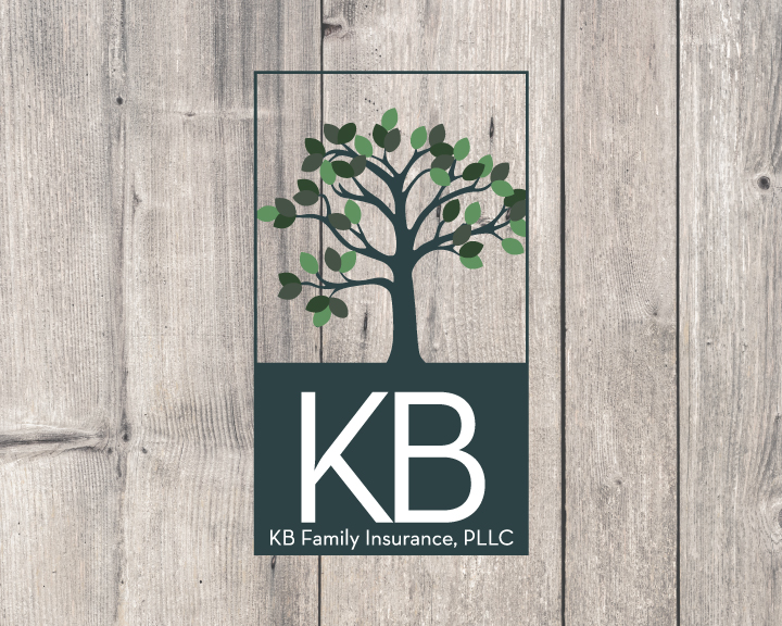 KB Family Insurance - Logo Design by In Form Creations
